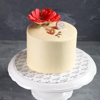 Red Autumn Cake