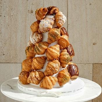 Croissant Pyramid