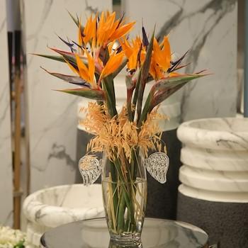 Angel Wings Vase