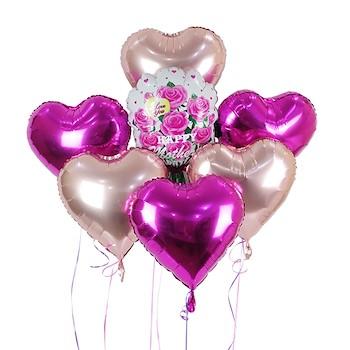 Heart Balloon Bouquet IV