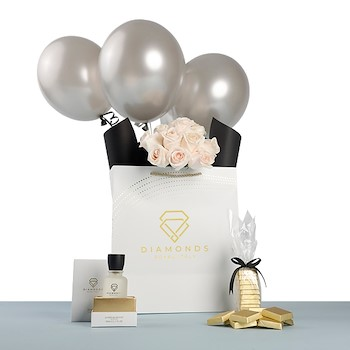 25% OFF - Silver Balloons 1