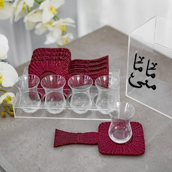 Personalized Ruby Set