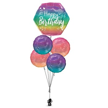 Sparkling Birthday Balloon