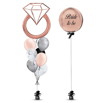 Rose Gold Ring Balloon