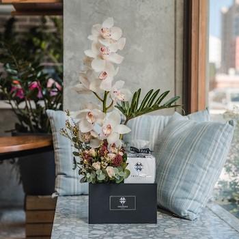 Orchid Choco Box