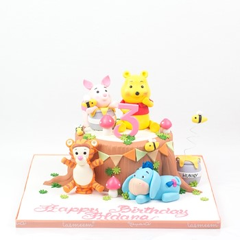 Character Honey Cake l