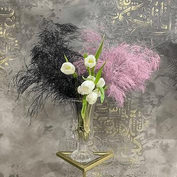 Black & Pink Vase