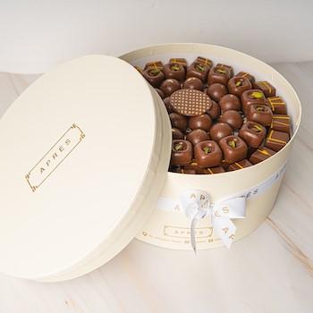 Off-white Round Box
