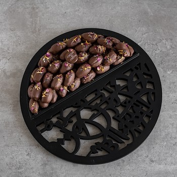 Floral Dates Tray