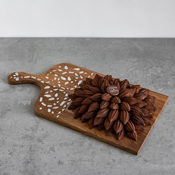 Pearl Platter Cocoa