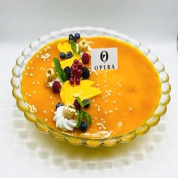 Mango Mousse Dessert I