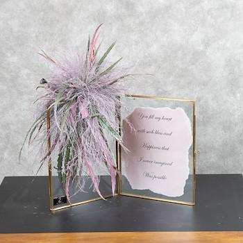 Pink Letter Frame