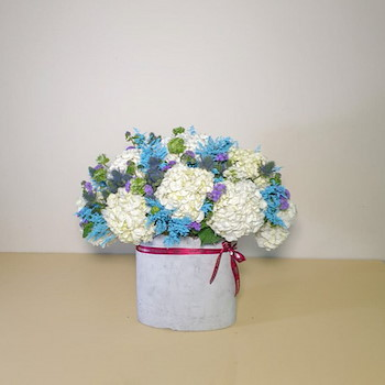 Blue Bouquet 11