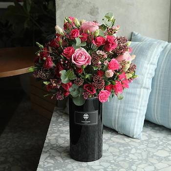 A Black Vase
