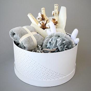 Fluffy Basket (Grey)