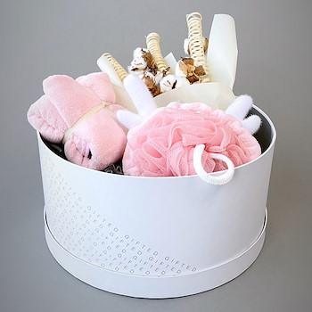 Fluffy Basket (Pink)