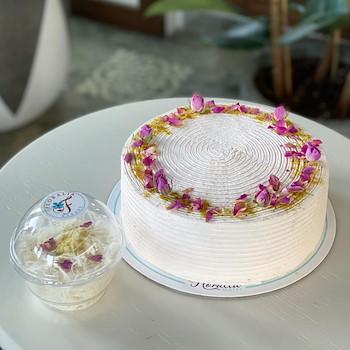 Pistachio Cake Rose Water