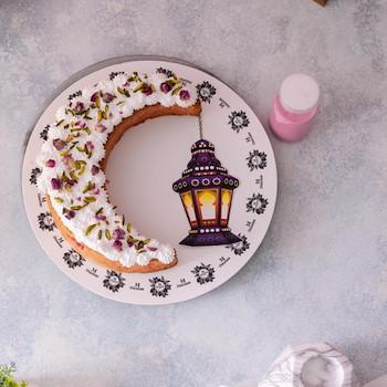 Crescent Rosemilk Cake