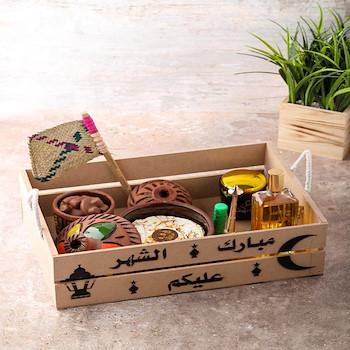 Saffron Cake Box