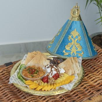 15% OFF - Blue Moroccan Platter