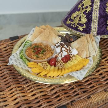 Purple Moroccan Platter