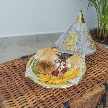 Grey Moroccan Platter