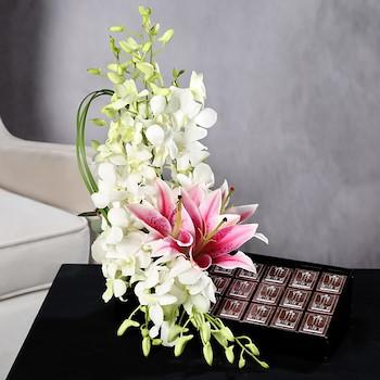 Orchidasya Three Bloom