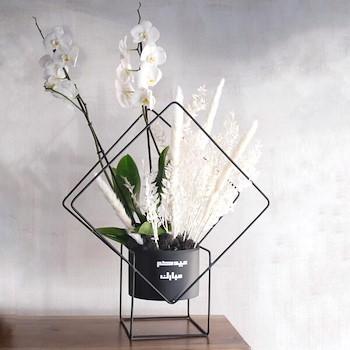 Diamond Flower Stand