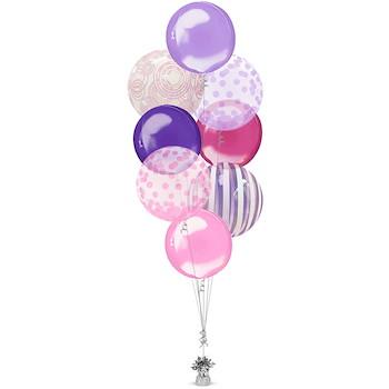 Shape Balloon Bunch 12