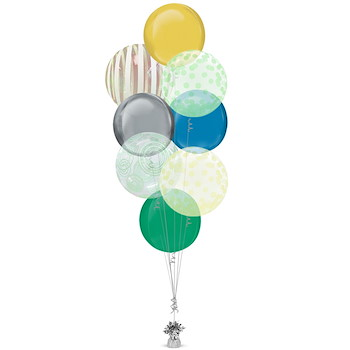 Shape Balloon Bunch 14