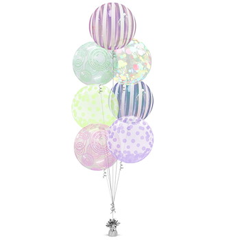 Shape Balloon Bunch 15