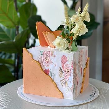 Qube Cake