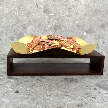 Gold Wave Tray 2