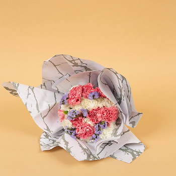 Marble Hand Bouquet
