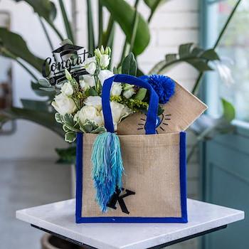 Graduation Tote Bag (Blue)