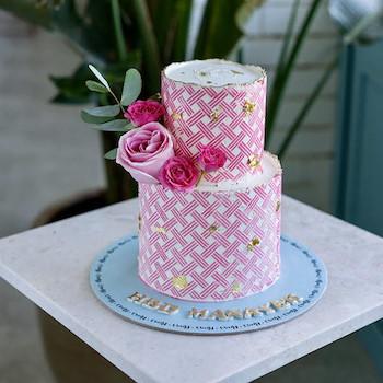 Rosie Plaid Cake