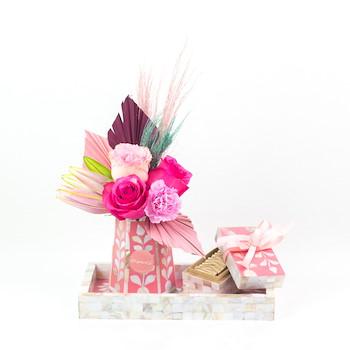 Tray Gift Sets (Pink)