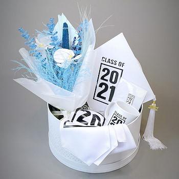 Graduation Gift Set White