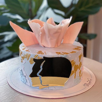 Zodiac Gemini Cake