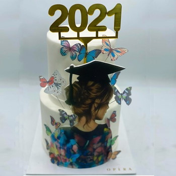 2021 Graduation Cake 6
