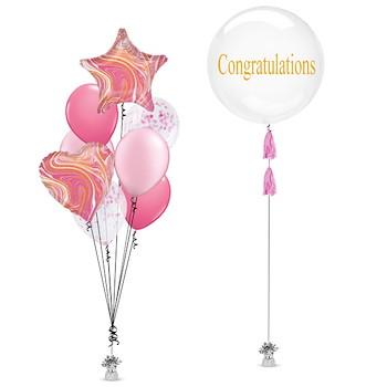 Congrats Shape Balloon 5