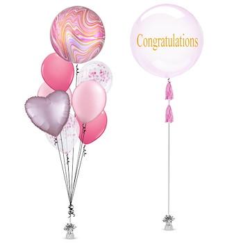 Grad Shape Balloon Bunch 5
