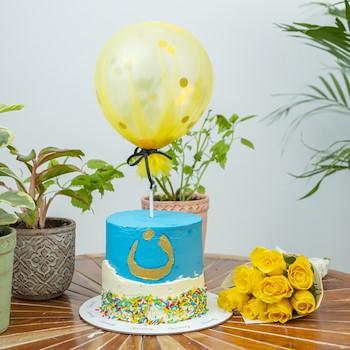15% OFF - Yellow Balloon   
