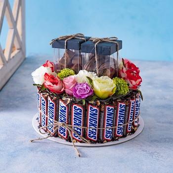 Snicker Flowers Gift