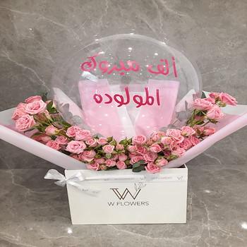 Baby Girl Flowers II