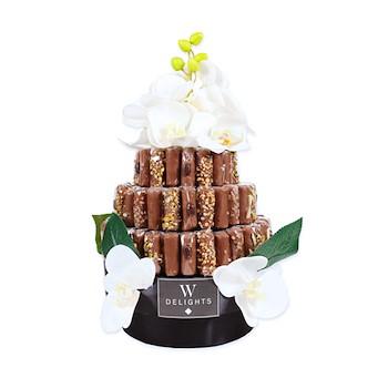 Flutes Chocolate Mini Tower