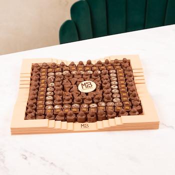 Chocolate Square Tray