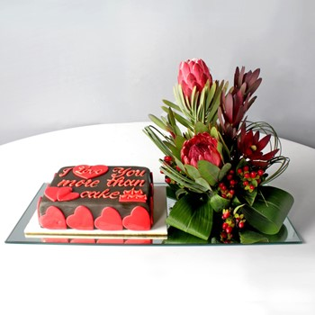 I Love You Cake 2