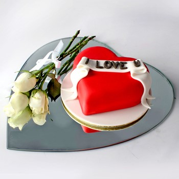 I Love You Cake 5
