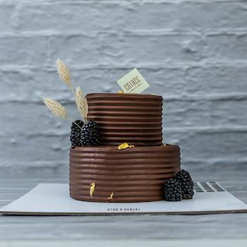 Elegant Mini Chocolate Cake